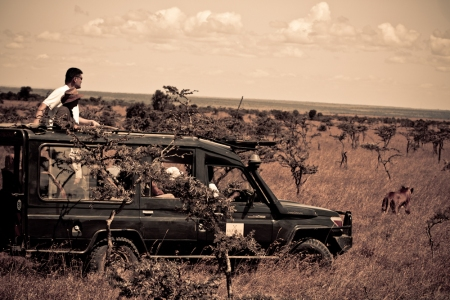 Yao Ming Explores the Ol Pejeta Conservancy